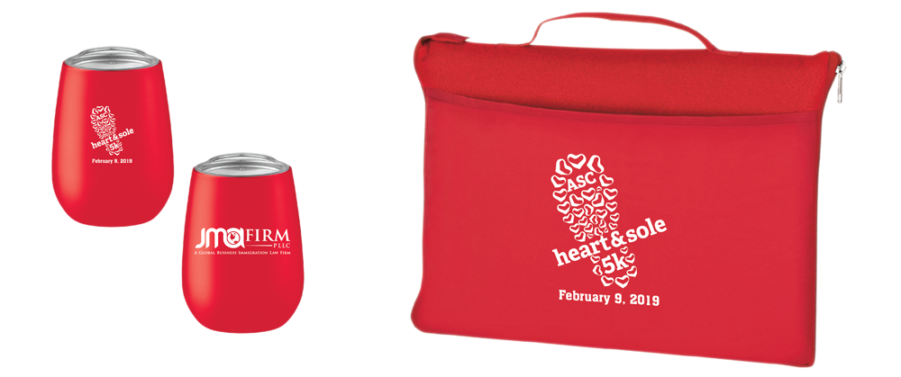 Insulated Tumbler & Top Finishers' Blanket